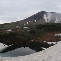大雪山とラベンダー(1) 旭岳トレッキング