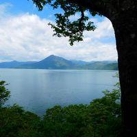 新緑の道南ドライブ(1)支笏湖