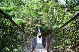 バンクーバーと近郊の島々へ(6)〜リン渓谷ハイキング&ダウンタウン散策・ちょこっと食べ歩き