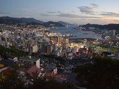 長崎、夜景が印象的です