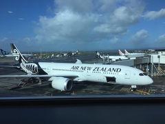ニュージーランド航空 B787-9 プレミアムエコノミー  オークランドー成田搭乗記