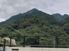 梅雨の曇り間の御在所岳登山