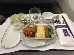 タイ国際航空ビジネスクラス プノンペン→バンコク搭乗記とプノンペン空港ラウンジ