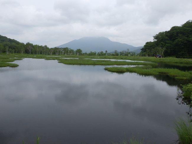 休暇村主催の2泊3日の戦場ヶ原と尾瀬ヶ原を歩くハイキングに参加しました。