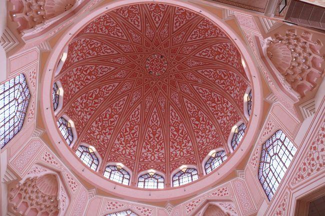 マレーシアドライブ旅行+シンガポール・ビンタン島&サンフランシスコ16日 11日目 可愛いピンクモスク