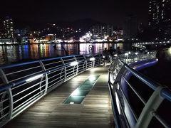 188回目訪韓(2019/7/11木~14日)⑪/⑫Uさんスニム達と中華料理の夕食~KTXで釜山へ~松島スカイウォーク