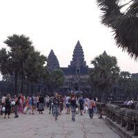 1人卒業旅行①カンボジア アンコールワット遺跡へ!
