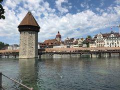 スイスの古都 水の街 ルツェルン