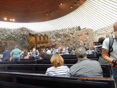 「岩の教会=テンペリアウキオ教会」フィンランドヘルシンキ動画追加リーガルプリンセス号バルト海クルーズ