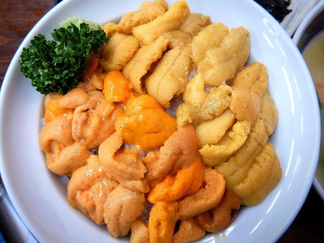 # ウニ料理