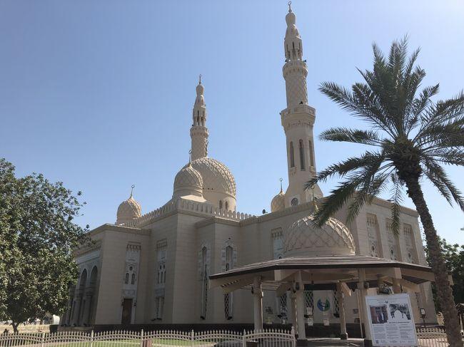 人生3度目の海外ひとり旅は、初めての中東、アラブ首長国連邦です。<br /><br />この旅最大の目的は、アブダビにある〝シェイクザイードグランドモスク〟をこの目で見ること。<br /><br />初めて中東に行きたいと思ったのは、もうかれこれ15年以上も前です。<br />当時検討したのは年末年始にかけてドバイ、オマーンをまわる旅行会社の企画ツアーでした。<br />お金も振り込んで行く気満々だったのですが、同行者の諸事情によりキャンセル( ´△`)<br /><br />それからずっとずっと行きたいと思っていたのです。<br />今思えば、その頃行っていたらグランドモスクを見ることが出来なかったので結果的に良かったわけですが。。<br /><br />今年は「働き方改革」の恩恵を受けて秋に有休取得する予定でしたが、業務の都合で難しくなったため、急遽2週間前にこのUAE行きを決定しました。<br /><br />直前だけに下準備する時間もなく、ドタバタと一気に手配を行い弾丸3泊4日で魅惑のアラビアンナイトに出発です♪(´ε` )