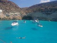 5度目のイタリアはフライングボートを見にランペドゥーサ島へ!①