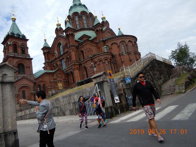 「生神女就寝大聖堂 Uspenskin katedraali」・・凄いインパクト十二分な名前です。(;^_^A<br /><br />Kanavakatu 1, 00160 Helsinki, フィンランド<br />5X95+CX ヘルシンキ, フィンランド ヘルシンキ<br />+358 9 85646100<br /><br /><br />生神女就寝大聖堂<br />出典: フリー百科事典『ウィキペディア(Wikipedia)』<br /><br />生神女就寝大聖堂(しょうしんじょしゅうしんだいせいどう、Dormition Cathedral)は、<br />生神女就寝祭を記憶する正教会の大聖堂。<br /><br />ロシア語 Успенский Собор (ウスピェーンスキー・サボール) の前半部のカタカナによる転写からウスペンスキー大聖堂あるいはウスペンスキー寺院とも呼ばれる。<br /><br />これは「永眠」を意味するロシア語 успение, Успение (ウスピェーニエ) に由来する。<br />従って、ロシア語に代表されるスラヴ語圏とは別の言語系統圏に属する正教会であるグルジア正教会、ルーマニア正教会、ギリシャ正教会などでは生神女就寝大聖堂のことを「ウスペンスキー大聖堂」とは呼ばす「生神女就寝」を表す各々の国語での表記を用いる。 <br /><br />入って、右側に「お棺」みたいなのが有るが・・・