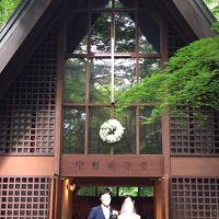 夏の軽井沢(長野)、宇都宮(栃木)、銀座(東京)-次男結婚式、娘夫婦誕生会ー7月、2019年