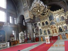 「生神女就寝大聖堂」内部 Uspenskin katedraali フィンランド・ヘルシンキ
