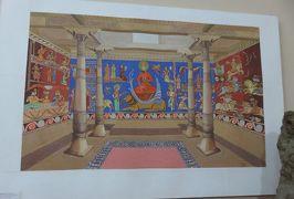 2019春、ウズベキスタン等の旅(25/52):4月25日(11):ペンジケント(11):ルダーキー博物館(5):壁画、焼物