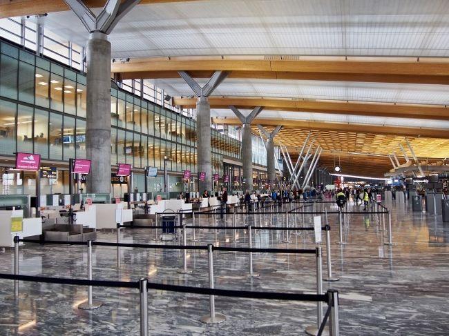初夏の北欧への旅 vol.17。──「オスロ・ガーデモエン国際空港」
