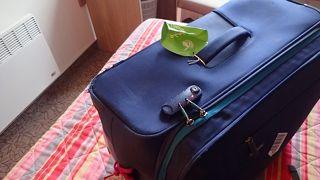 スーツケースが開きません!(>_<)(*_*)( ゚Д゚)