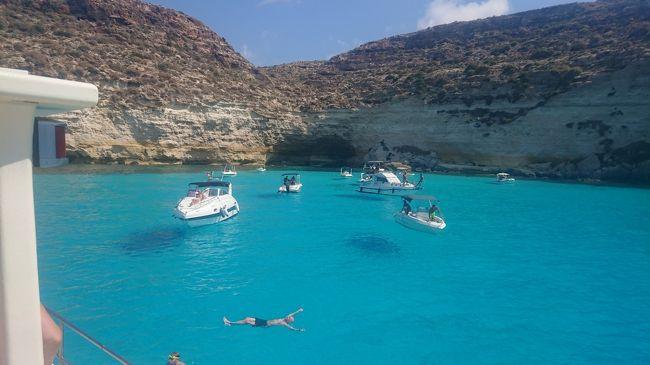 5度目のイタリアはフライングボートを見にランペドゥーサ島へ!②