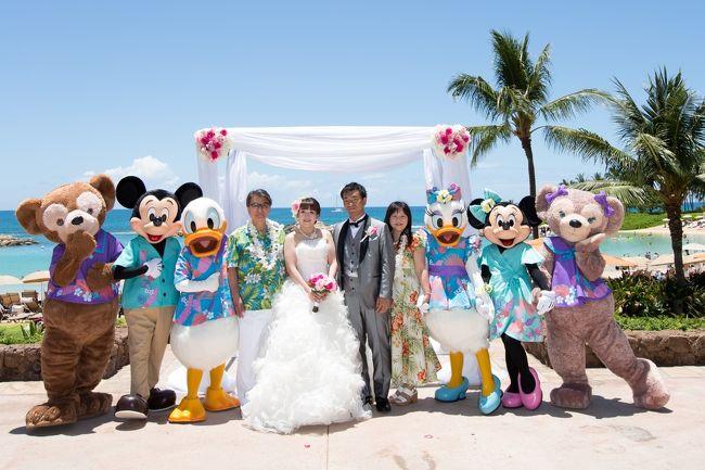 アウラニディズニー結婚式とホノルル②-4
