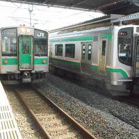 2019年 7月中旬 中東北・・・・・�常磐線北部&東北本線を乗り継いで
