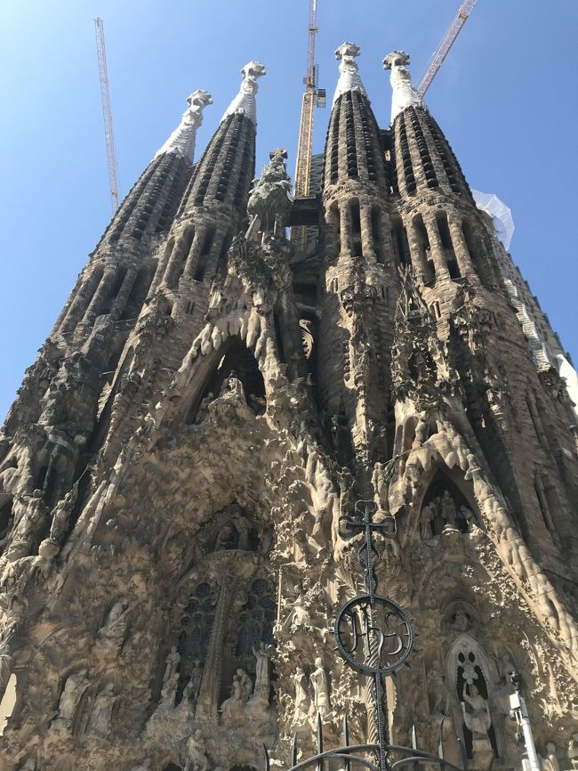 最終はバルセロナの観光<br />11時にサクラダファミリアを予約していたので朝食のあと、カサミラから2階建バス<予定はありませんでした>聞くとサクラダファミリアなどいろんな観光しながら回れるとの事で乗り込み、観光スタート<一人一日30ユーロ>解説付きで個人では周れない所まで行けるのでお勧めです。<br />サクラダファミリア→サンパウロ病院→グエル公園辺り→カサミラ→カサパトリョ→チョコレートショップ→カタルーニャ広場→ランブラス通→凱旋門→コロンブス塔→音楽堂フラメンコショー→ホテル<br />バルセロナ2日目は半日しのでバルセロナ美術館でまったり、旧市街でランチ<br />で飛行場へ<br />ここでアドレス バルセロナ空港はユーロ圏の飛行機以外は買い物も全くできないエリアになりますので、無理やりユーロ圏から出国手続きをしてください。<br />次回は海の辺りを観光してみたい<br />