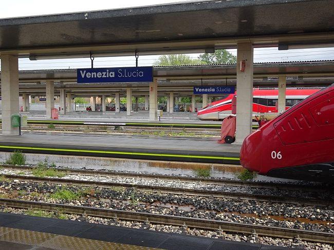 2019 スイス、イタリア鉄道紀行(5)ミラノ- ベネチア間 イタロ、フレッチェロッサを乗り比べ