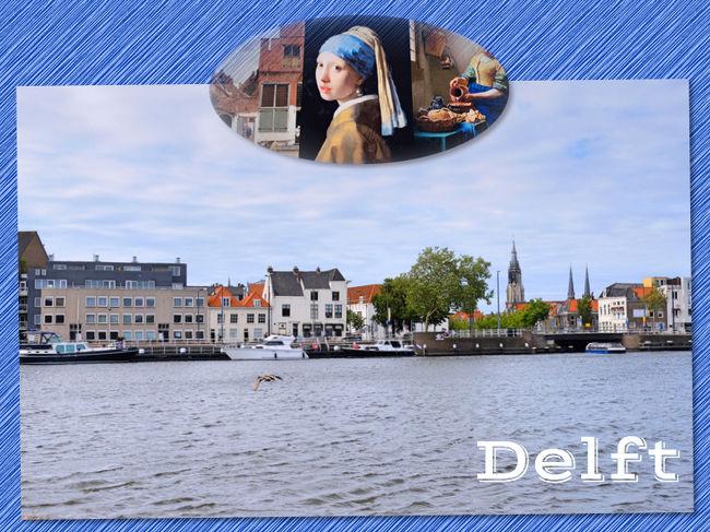 フェルメールの生まれ生涯を過ごした街デルフトは、デン・ハーグとロッテルダムの中間地点に位置する小さな美しい古都です。<br /><br />数年前に、フェルメール展で素敵な作品を見てから機会があればフェルメールの故郷のデルフトをぜひ訪れてみたいと思っていました。<br /><br />今回の旅で願いが叶うことになり、短い滞在期間中で次のことをしてみたいと思いました。<br /> ◎ フェルメールの生まれた場所や育った場所などを訪れる<br /> ◎ 有名な作品が描かれた場所に足を運ぶ<br /> ◎ 運河やスヒー川の水辺の美しい景色を楽しむ<br /><br />デン・ハーグを訪れた日の午後、ワクワク浮き立つ思いでデルフトに向かいました。<br />