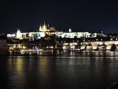 2017年9月スロバキア・チェコ観光6プラハ(チェコ)観光3黄金の小路とカレル橋と夜景