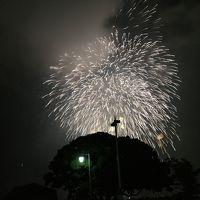 横浜の夏 トワイライト スパークリング花火