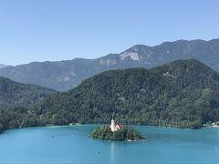 クロアチア・スロヴェニア2019 その1 ~オーストリア航空、ブレッド湖、ポストイナ鍾乳洞~