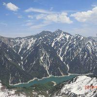 宇奈月温泉に泊まって雪の大谷に行く(アルペンルート長野側)