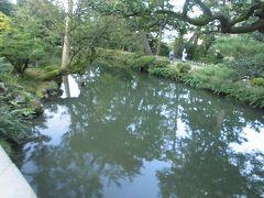 兼六園瓢池周辺の風景