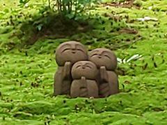京都一人ぶらり旅 詩仙堂 お地蔵さん