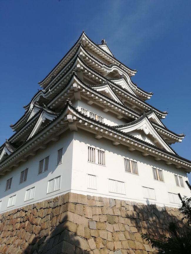 広島へ出張してきました。<br />目的地は福山市です。<br /><br />できることならば広島市まで足を伸ばして、原爆ドームや厳島神社や宮島に行ったり、カキやお好み焼きを堪能したかったのですが、お仕事なのでそれはまたの機会にすることにしました。<br /><br /><br />とはいっても少々早めに仕事を終えることができたのでお土産を買いに福山駅へ行くついでに、駅のすぐ隣にある福山城公園を散策しに行きました。<br />園内には博物館や美術館があるのですね。<br />写真にある説明書きにも記載されていますが、お城自体は400年ほど前に築城されたようです。第二次世界大戦にて焼失してしまったようですね。ただ築城時に伏見城より移築した筋金御門は当時のままとのことです。<br /><br />初の広島県と楽しみにしていたのですが、なんとお好み焼きを食べ忘れてしまいました・・・。カキも時季ではなく・・・。残念デス・・・。<br />今度機会があれば次こそは、広島市の方へ行ってみたいですね。<br />
