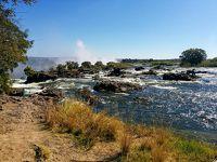 LaLaLa自由に楽しむシニア一人旅 ギリシャ・ビクトリア滝・ケープタウン (ビクトリア滝ザンビア側)
