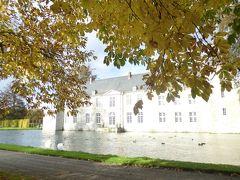 2013年秋のドイツ(ベルギー編)13:名園で知られたアンヌヴォワ城で風邪をひき、立ち往生する。