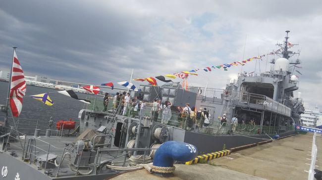 2019海の日 練習艦「やまゆき」一般公開 at 大阪港 初めてのみる艦艇はカッコいい!