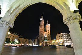 (6)  夜はもっと楽しい(?) クラクフに名残り惜しみつつ、軽食付き一等車でワルシャワに移動