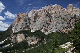 201906-09_ファルツァレーゴ峠でトレッキング Trekking in Passo Falzarego in Italy