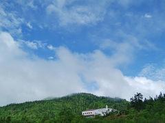 霧の弥陀ヶ原を歩く