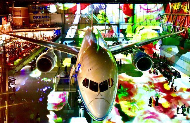 2018年7月から中部国際空港さんがプレゼンツしている、北海道在住者向けのキャンペーン。<br />飛行機で北海道から名古屋に行くかた対象「道民ならみんなタダ」という太っ腹企画。<br />私も今年2月「フライト・オブ・ドリーム入場料金無料につられて行ってきました。<br />えっ!今頃旅行記?と思われるでしょうが。。。。。<br />ご容赦ください(^_^;)<br />この企画、今年3月で特典は終わりましたが、好評のため5月17日からは 北海道民は「伊勢うどん」無料を実地しているようですよ!<br />セントレアさん ステキです!詳しくはHPをご覧くださいね。<br /><br />で、せっかく行くのだから名古屋に1泊できれば御の字ですが、慢性人員不足の職場。<br />そうそう休みも取れないので、いつも通り弾丸旅行です。<br />それでも欠航やJRの遅延を心配して千歳空港に前泊しましたけどね。