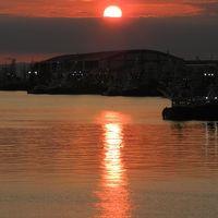 釧路・幣舞橋から見る美しい夕日&サンセットショー◆旅仲間と行く初秋の道東《その12》