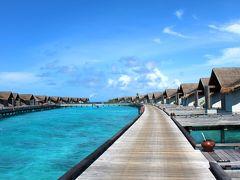 水上飛行機でリゾートへ♪グランドウォーターサンセットヴィラ~和食KATAの絶景【水の秘島♪フェアモント モルディブ シル フェンフシ】