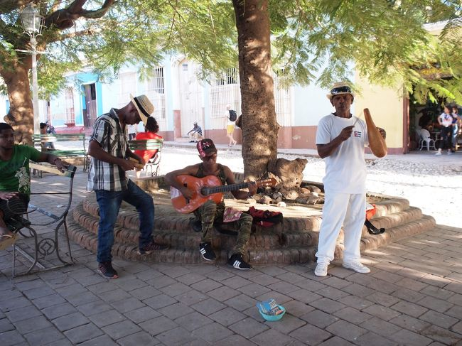2018年末キューバ旅行(トリニダー)