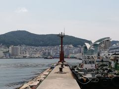南浦のお得なビュフェと影島大橋