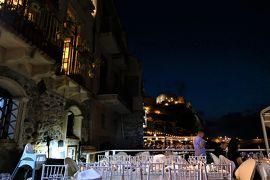 魅惑のシチリア×プーリア♪ Vol.27 ☆イタリア美しき村「シッラ」:海上レストランの美しいディナー♪