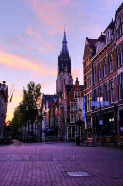 水辺の美しい景色を求めてオランダ&ベルギーへ <11> デルフトの早朝散歩を楽しんで♪
