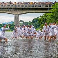 Laviewで行く、夏の到来を告げる秩父川瀬祭り