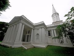 2019.6シンガポール一人旅4-St.Andrew's大聖堂,フードコートで昼食,アルメニア教会,シンガポール国立博物館 歴史ギャラリー